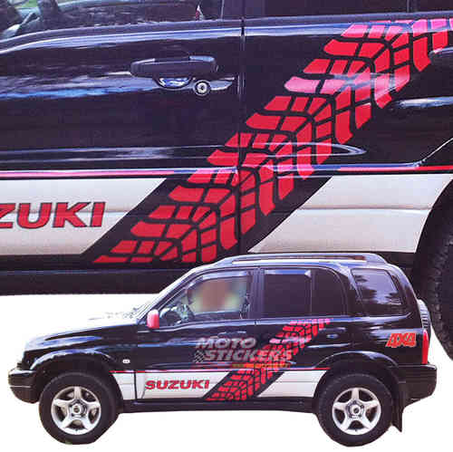 Kit adesivi Racing Suzuki Grand Vitara