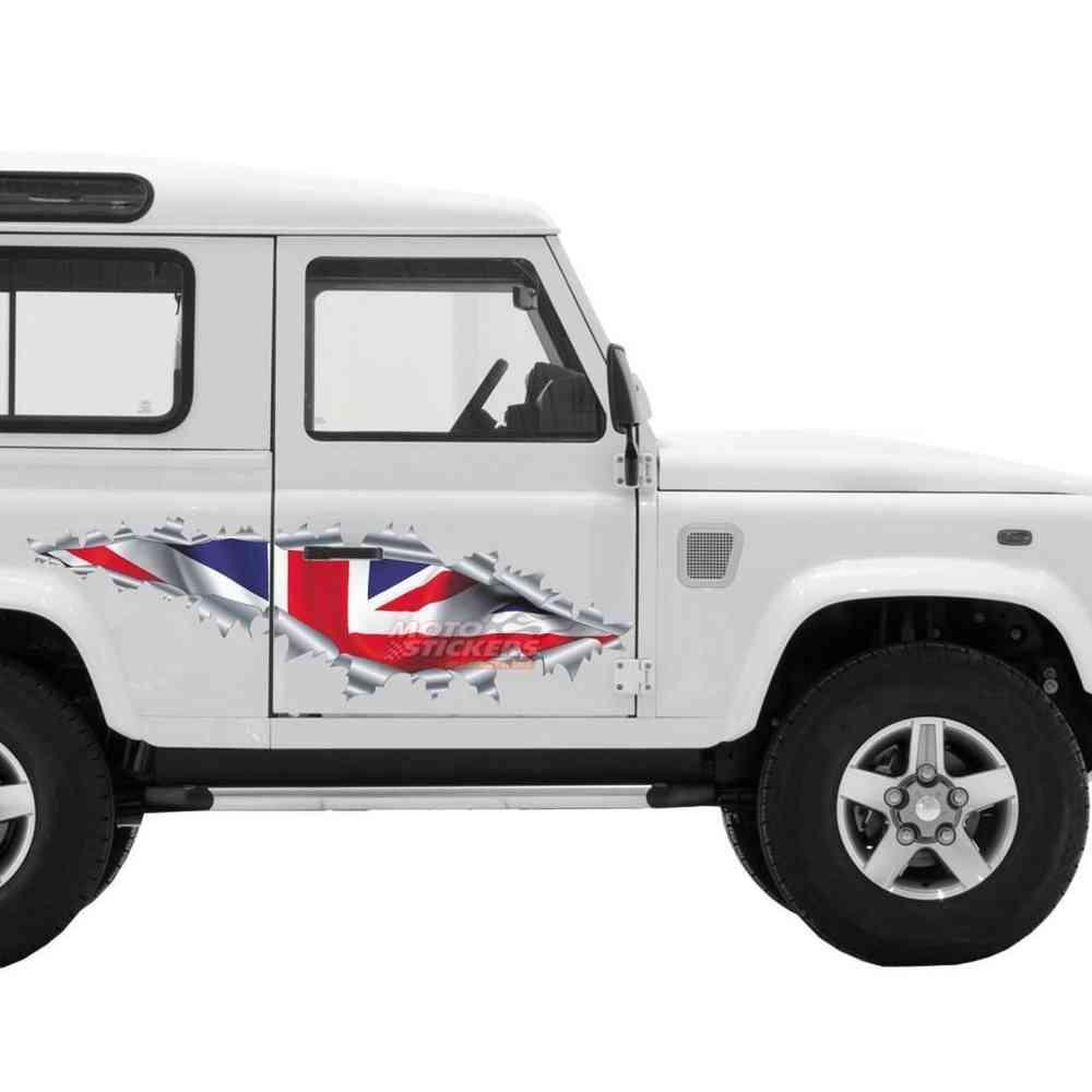 Adesivi Strappo Bandiera Inglese 104x38cm Www Motostickers It